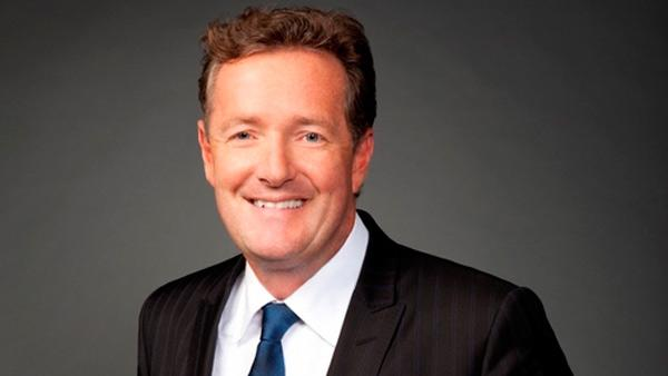 Piers Morgan appears in an undated photo from his official Twitter page.