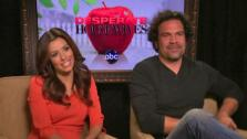 Eva Longoria and Ricardo Chavira talk to OnTheRedCarpet.com about the end of their long-running ABC show Desperate Housewives. - Provided courtesy of none / OTRC