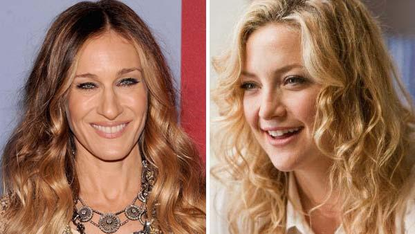 Sarah Jessica Parker is seen in an undated photo provided by FOX. Kate Hudson appears in a still from the film A Little Bit of Heaven. - Provided courtesy of Jamie McCarthy / Getty Images / The Film Department