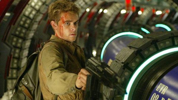 Nick Stahl appears in a scene from the 2003 film Terminator 3: Rise of the Machines. - Provided courtesy of Columbia TriStar Films