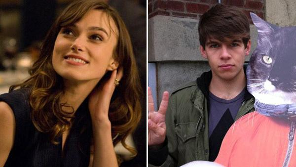 Keira Knightley appears in a scene from the 2010 film, 'Last Night.' / James Righton appears in a photo posted on the Klaxons' official Facebook page on September 28, 2010.