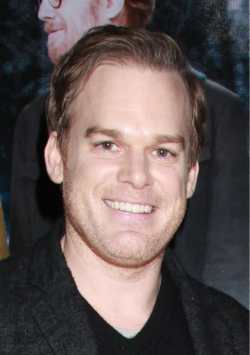 Michael C. Hall of &#39;Dexter&#39; fame attends the opening night of the new Broadway musical &#39;If&#47;Then&#39; at the Richard Rodgers Theatre in New York on March 30, 2014. <span class=meta>(Adam Nemser &#47; Startraksphoto.com)</span>