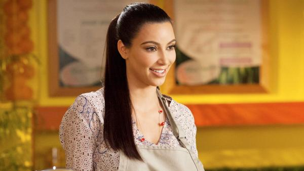 Kim Kardashian appears in a promotional photo for her role on Drop Dead Diva in the season 4 premiere, which airs on June 3, 2012. - Provided courtesy of Bob Mahoney/Lifetime
