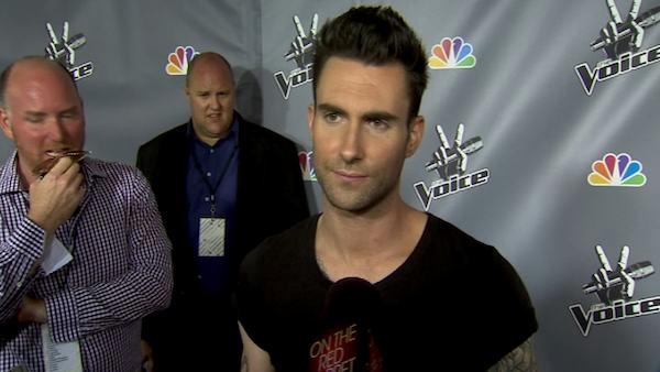 Adam Levine talks to OnTheRedCarpet.com at the season 1 finale of 'The Voice' in June 2011.