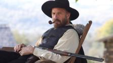 Kevin Costner appears in a still from the 2012 miniseries Hatfields & McCoys. - Provided courtesy of History