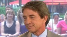 Martin Short appears in a still from the May 30, 2012 episode of the Today show. - Provided courtesy of NBC