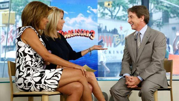 Hoda Kotb, Kathie Lee Gifford and Martin Short appear in a still from the May 30, 2012 episode of the Today show. - Provided courtesy of NBC / Peter Kramer