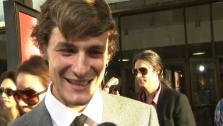 Giles Matthey talks to OnTheRedCarpet.com at the Los Angeles premiere of True Bloods 5th season on May 30, 2012. - Provided courtesy of OTRC