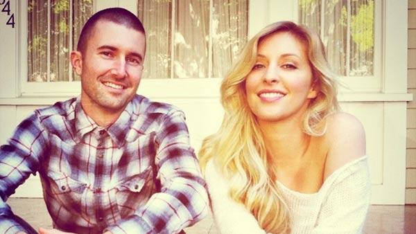 Brandon Jenner and Leah Felder appear in a photo posted on Felder's official Twitter account on January 26, 2012.
