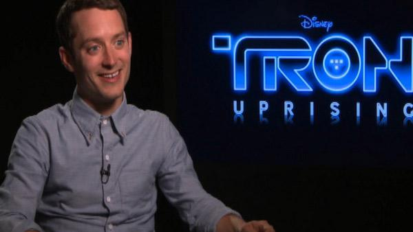 Elijah Wood is 'renegade' in 'TRON: Uprising'