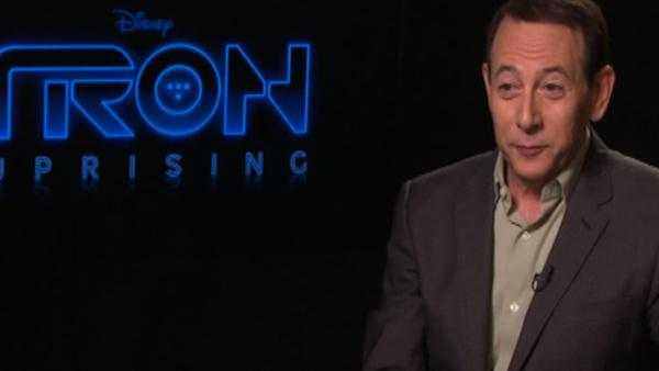 Paul Reubens talks to OnTheRedCarpet.com about the Disney XD animated series TRON: Uprising, which premieres on June 7, 2012.