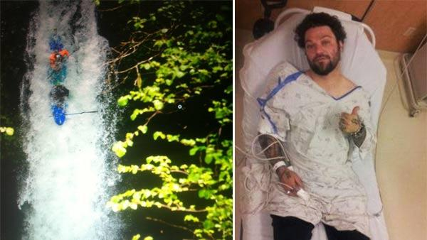 Bam Margera appears in photos posted on his official Twitter account on May 30 and May 31, 2012. - Provided courtesy of http://pic.twitter.com/c64o7ghA / http://pic.twitter.com/8JcJlKBI