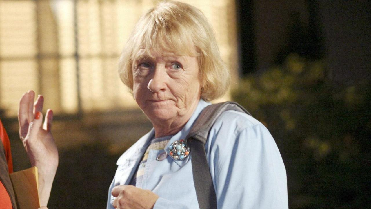 Kathryn Joosten appears in a still from Desperate Housewives.