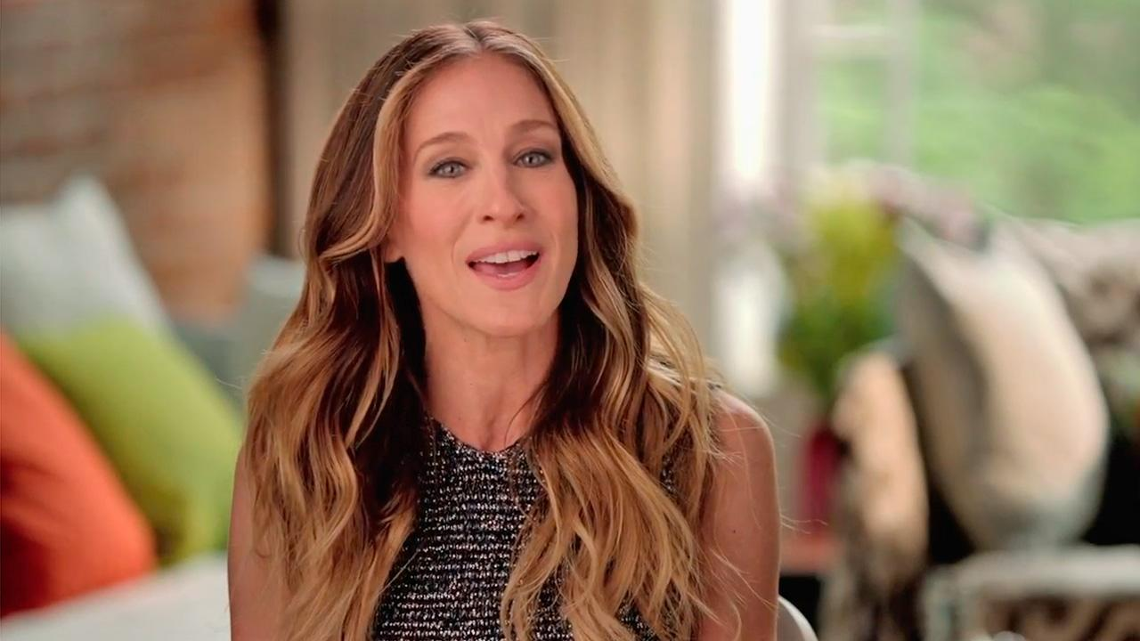 Sarah Jessica Parker appears in a campaign ad for President Barack Obama in May 2012.