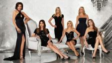 The season five cast of The Real Housewives of New York, LuAnn de Lesseps, Carole Radziwill, Aviva Drescher, Ramona Singer, Sonja Morgan and Heather Thomson appear in a publicity photo. - Provided courtesy of Bravo/ Michael Rosenthal