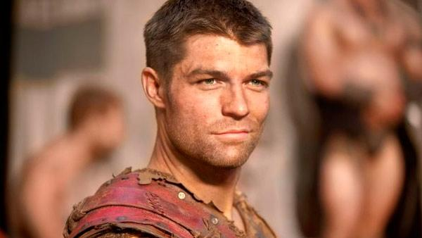 Liam McIntyre appears in a promotional photo for Spartacus: Vengeance in 2011. - Provided courtesy of Starz
