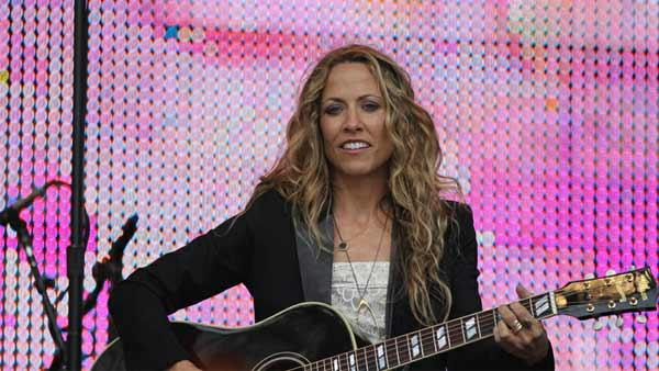 Sheryl Crow performs at ATT Park in San Francisco, California June 2011. - Provided courtesy of flickr.com/photos/aewang/