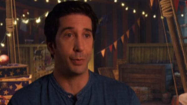 David Schwimmer talks his character Melman's challenges