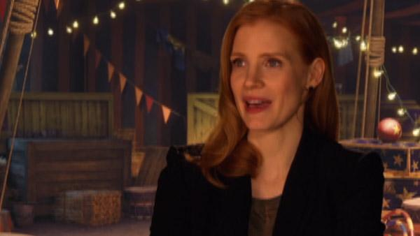 Jessica Chastain talks playing Gia in 'Madagascar 3'