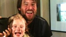 Jim Carrey and Jenny McCarthys son Evan appear in a photo posted on the actors official Twitter page on April 19, 2010. - Provided courtesy of Twitpic.com/1gvyus