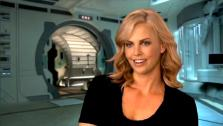 Charlize Theron talks about Prometheus, in an interview provided by the studio. - Provided courtesy of Twentieth Century Fox Film Corporation