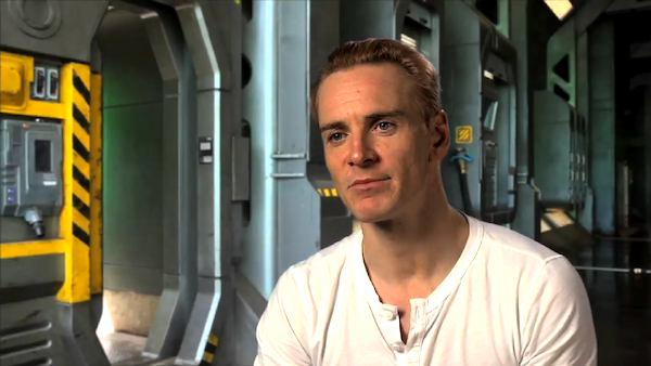 Michael Fassbender talks about playing an android in 'Prometheus'