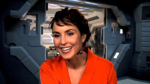 Noomi Rapace talks about her 'Prometheus' experience