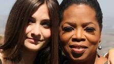 Paris Jackson (left), poses with Oprah Winfrey. Jackson is featured on a June 10 episode of the OWN series Oprahs Next Chapter. - Provided courtesy of Harpo, Inc.