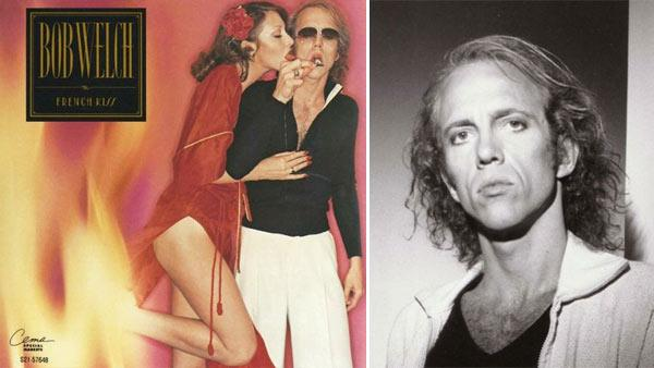 Bob Welch appears on the cover of his 1977 album 'French Kiss.' / Bob Welch appears in a 2008 photo posted on his MySpace page.