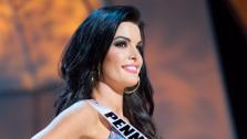 Miss Pennsylvania, Sheena Monnin, poses in a bikini during the Miss USA Presentation Show on May 30 from the Planet Hollywood Resort in Las Vegas, Nevada. - Provided courtesy of Miss USA / Darren Decker