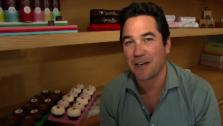Dean Cain talks to OnTheRedCarpet.com at Sprinkles Cupcakes bakery in Beverly Hills, California in May 2012. - Provided courtesy of OTRC