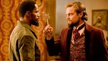 Leonardo DiCaprio and Jamie Foxx appear in scenes from the 2012 film Django Unchained. - Provided courtesy of The Weinstein Company