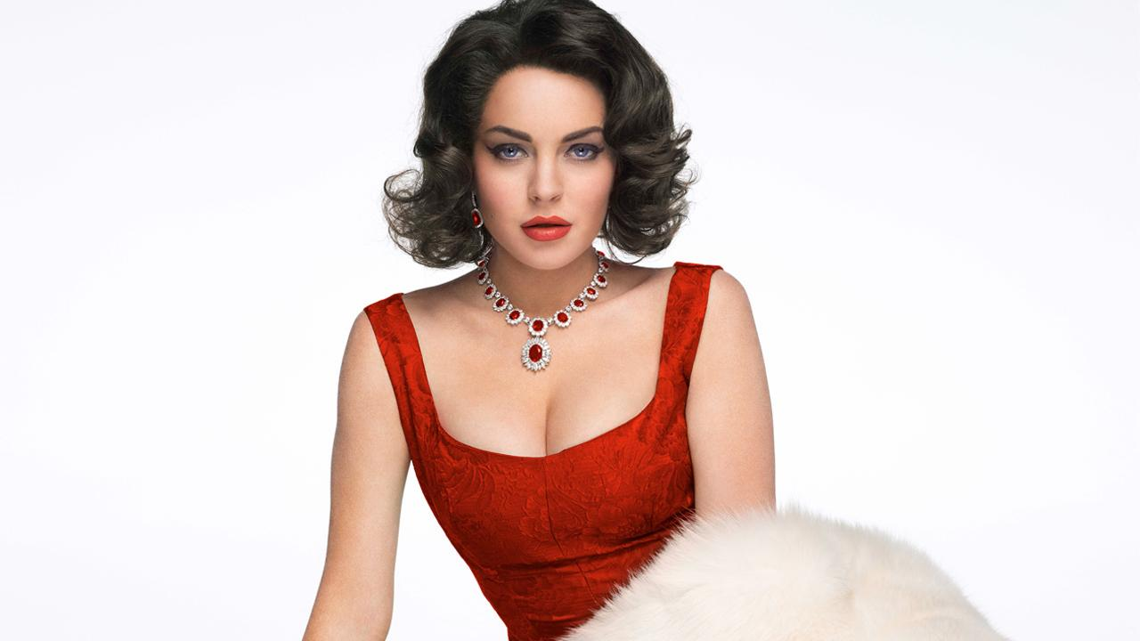 Lindsay Lohan appears in a promotional photo for the 2012 Lifetime Original Movie, Liz and Dick.