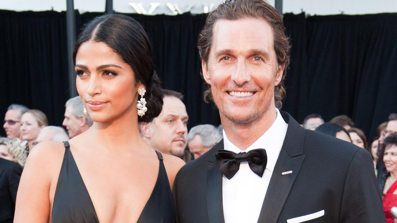 Matthew McConaughey arrives with Camila Alves for the 83rd Annual Academy Awards at the Kodak Theatre in Hollywood, CA February 27, 2011.