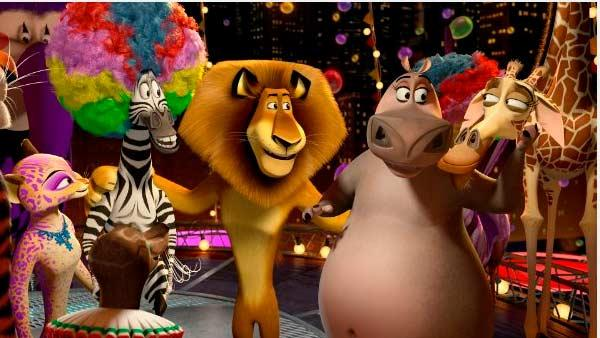 A scene from the 2012 film Madagascar 3. - Provided courtesy of DreamWorks Pictures