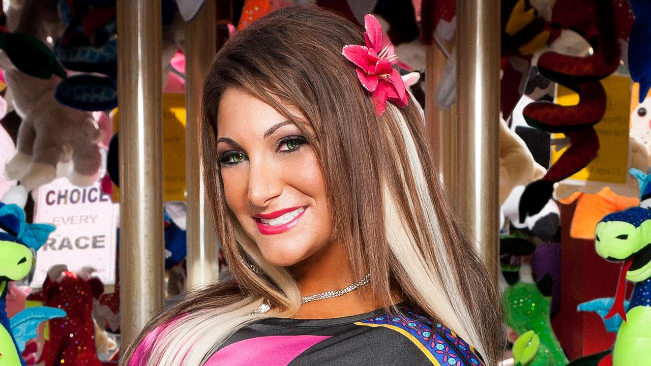 Deena Cortese appears in a promotional photo for Jersey Shore in 2011.