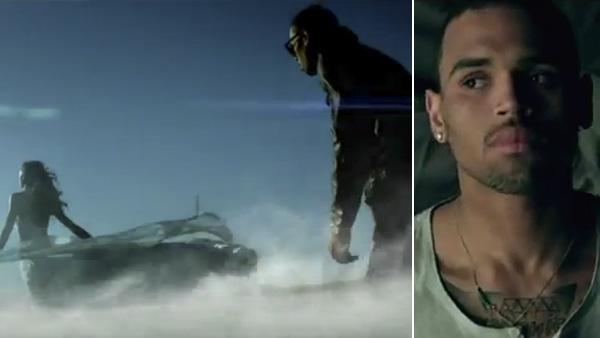 Chris Brown appears in a scene from his 2012 music video Dont Wake Me Up. - Provided courtesy of RCA Records, a division of Sony Music Entertainment
