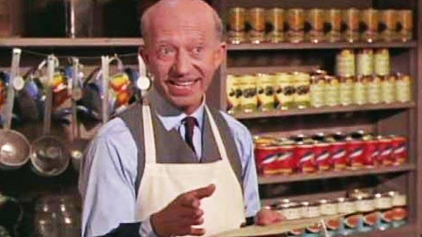 Frank Cady appears in a still from 'Green Acres.'