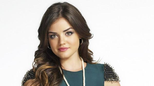Lucy Hale appears in an undated promotional photo for Pretty Little Liars season 3 in 2012. - Provided courtesy of ABC