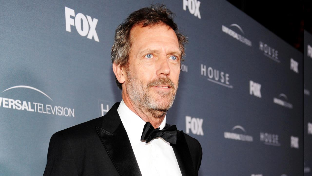 Hugh Laurie arrives on the red carpet at the House Series Wrap Party Friday, April 20, 2012, at Cicada in downtown Los Angeles, CA.