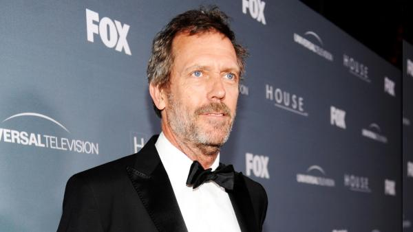 Hugh Laurie arrives on the red carpet at the House Series Wrap Party Friday, April 20, 2012, at Cicada in downtown Los Angeles, CA. - Provided courtesy of Frank Micelotta/FOX