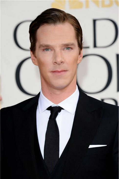 Benedict Cumberbatch appears at the 2013 Golden Globe Awards in Beverly Hills, California on Jan. 13, 2013. <span class=meta>(Sara De Boer &#47; Startraksphoto.com)</span>