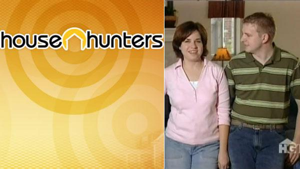 The Jensen family appears in a still from House Hunters. - Provided courtesy of HGTV
