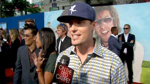 Vanilla Ice, whose real name is Robert Matthew Van Winkle, talks to OnTheRedCarpet.com at the premiere of Thats My Boy on June 4, 2012. - Provided courtesy of OTRC