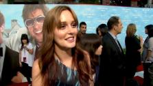 Leighton Meester talks to OnTheRedCarpet.com at the premiere of Thats My Boy on June 4, 2012. - Provided courtesy of OTRC