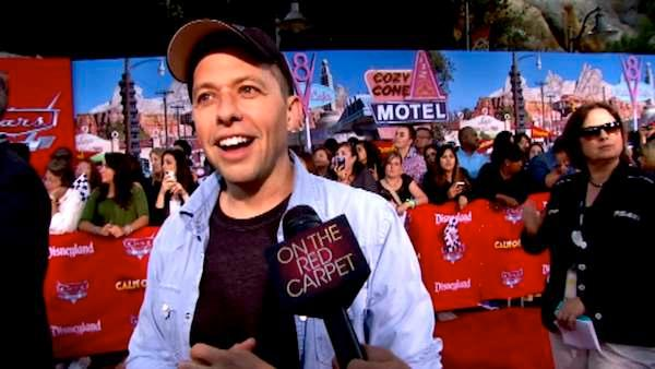 Jon Cryer talks to OnTheRedCarpet.com at the opening of Cars Land at Disneyland Resort in Anaheim, Calif. on June 13, 2012. - Provided courtesy of OTRC