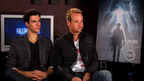 Drew Roy and Colin Cunningham talk 'darker' 'Falling Skies'