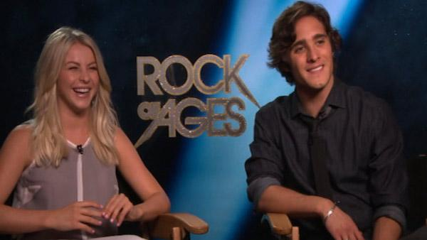 Julianne Hough, Diego Boneta talk 'Rock of Ages'