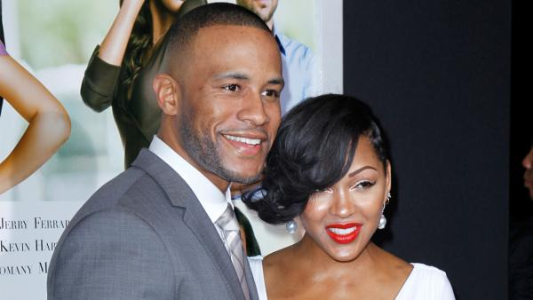 Meagan Good marries fiance DeVon Franklin at winery in Malibu.