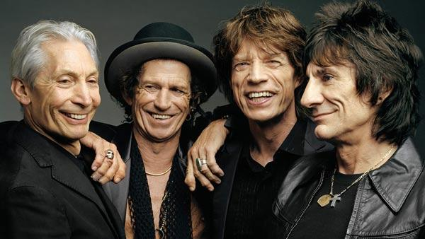 The Rolling Stones appear in a photo posted on the bands official Facebook page on March 29, 2012. - Provided courtesy of Facebook.com/therollingstones
